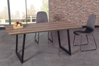 Mesa comedor industrial 180cm