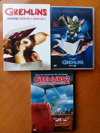 gremlins 1 y 2 edicion coleccionista dvd
