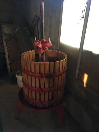 Prensa para vino