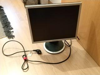 Pantalla ordenador Samsung + Cable VGA