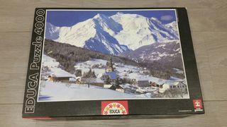 Puzzle Educa Mont Blanc 4000 piezas