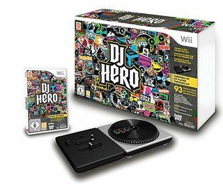 Dj Hero Wii Mesa de mezclas + juego wii.