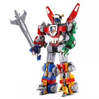 Voltron robot años 80 compatible lego