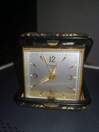 reloj despertador helveco coleccionista