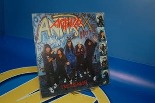 Disco Vinilo EP - Anthrax I'm The Man -año 1987