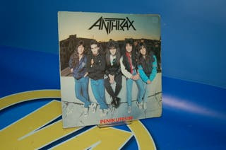 Disco Vinilo EP - Anthrax Penikufesin -año 19