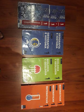 libros de primero de la E.S.O.