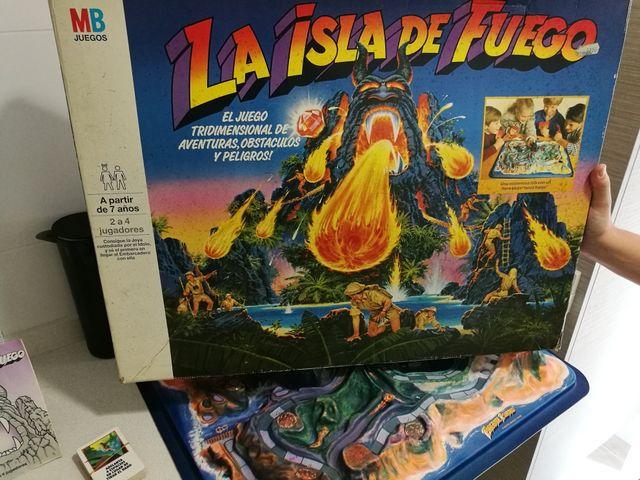 La Isla De Fuego Mb Juego De Mesa Anos 80 De Segunda Mano Por 270