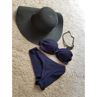 PACK Bikini Negro/Azul segunda mano  España