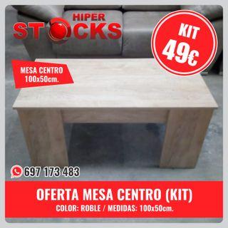 OFERTA MESA CENTRO kit