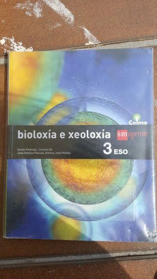 Libro bioloxiae xeoloxia 3 ESO