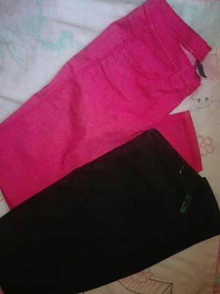 Pantalones mujer benetton
