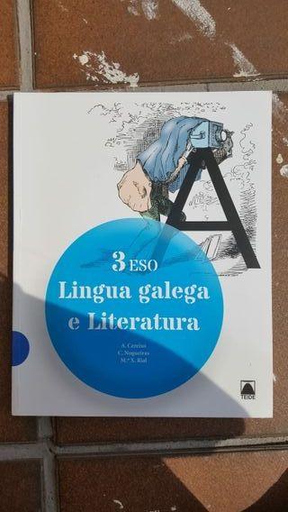 Libro lingua galega 3 ESO.
