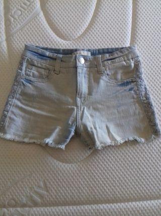shorts vaqueros (talla 34)