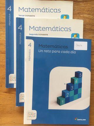 Matemáticas 4° Primaria