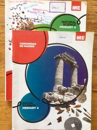 Social Science y Natural Science 4° Primaria