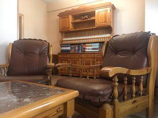 Conjunto muebles r sticos pino de segunda mano por 700 en madrid en wallapop - Muebles segunda mano madrid particulares ...