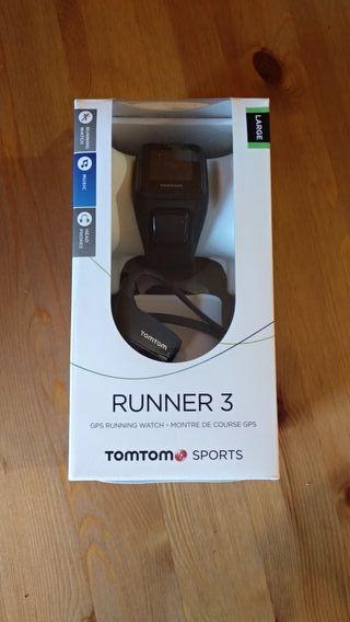 Tomtom runner 3 con auriculares bt