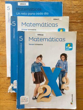 Matemáticas 5° Primaria