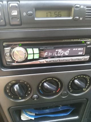 radio CD coche alpine