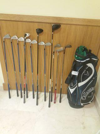 juego completo de palos de golf con bolsa