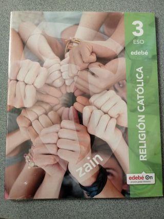Libro de Religión Católica 3 ESO