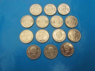 Monedas Selección Española del 2000