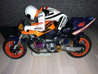 Moto Rc 1:5 HONDA REPSOL nitrometano