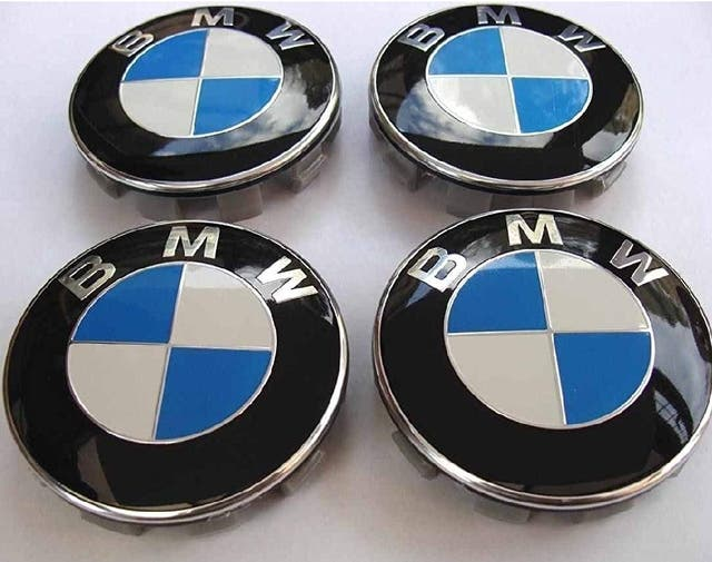 Juego 4 tapabujes BMW 68mm