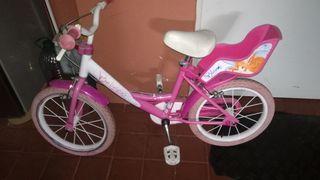 bici niña bicicleta
