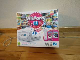 Caja Wii U Blanca ed. Wii Party
