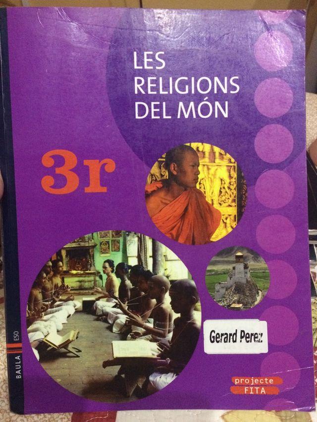 Libro les religions del mon