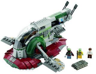 Lego Star Wars 8097 Boba Fett nave slave I