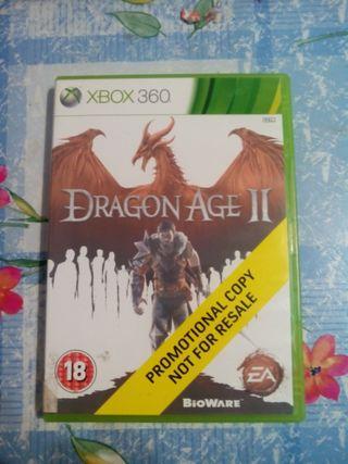 dragon age II Xbox 360. buen estado económico