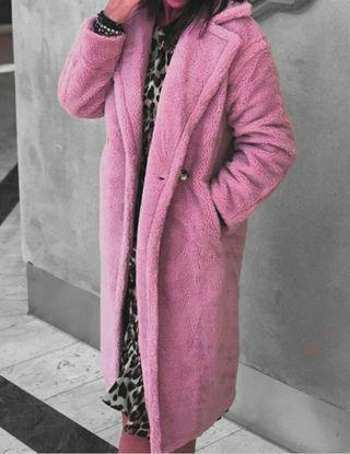 abrigo piel, usado segunda mano  España