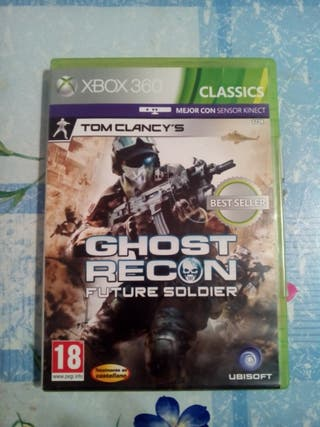 Ghost recon future soldier. Xbox 360.