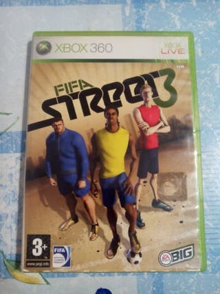 fifa street3 Xbox 360. buen estado. economico.