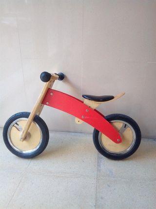 bicicleta sin pedales alemana