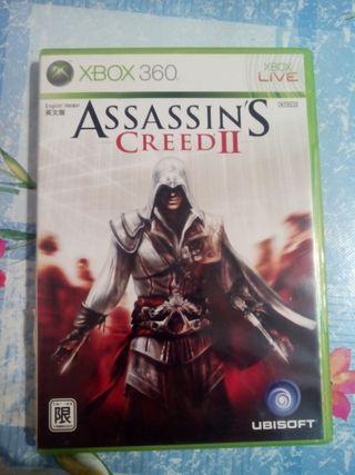 Assassins Creed II . Xbox 360. buen estado.