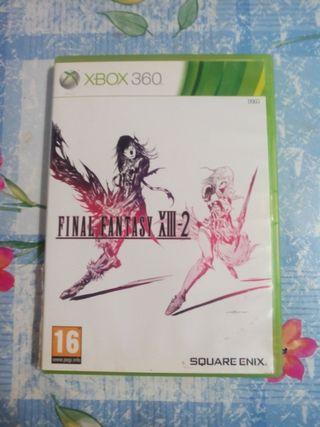 final fantasy XIII-2 XBOX 360. buen estado.