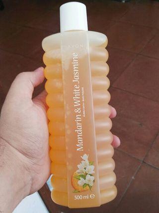 Jabon de baño con olor frutal y jasmine