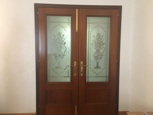 Conjunto puertas comedor de segunda mano por 25 € en Valencia en ...