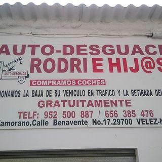 auto desguace Rodri