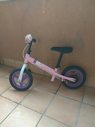 bicicleta para niñas sin pedales