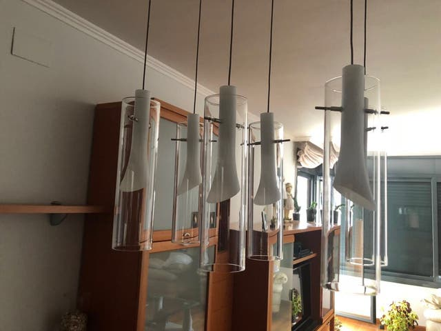 Lámpara de techo para comedor de segunda mano por 35 € en Lleida en ...