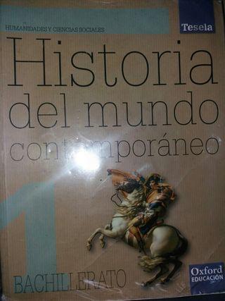 libro Historia del mundo contemporánea