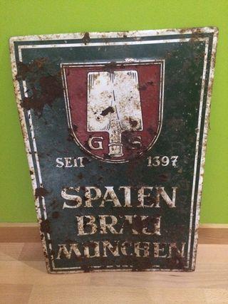 Cartel Original Cerveza Metal