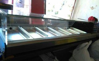 Vitrina de tapas - refrigerada hostelera