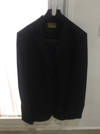 Traje Hombre Zara Negro