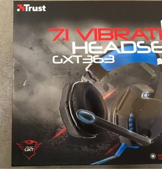Auriculares Gaming Trust GXT363 -nuevos-.